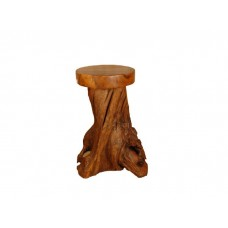 Teak Root Low Stool