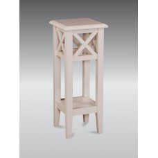 Square Plant Stand - French Ivory