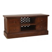 Four Drawer TV Unit