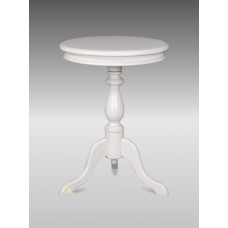 Round Wine Table - 60cm  French White