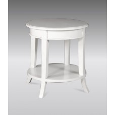Versailles Circular Side Table - French White