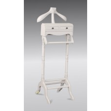 Valet Stand in French WHite
