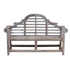 Lutyens Garden Bench - Tigerwood