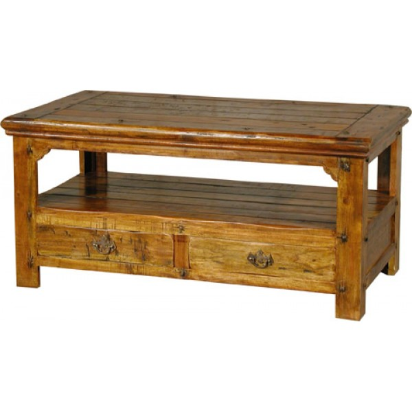 Map Drawer Coffee Table: Coffee Table