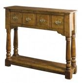 Four Drawer Console Table