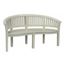 Teak Garden Bench - Hampshire 160cm - Pavilion Grey