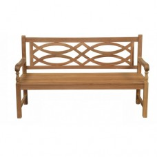 Teak Garden Bench - Sandringham in Natural Teak
