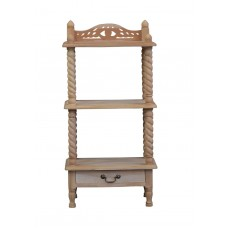Barley Twist Stand with3 Shelves