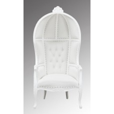 French Moulin Ladome Porter Chair French White