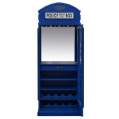 Drinks Cabinet - Police Call Box in Metro Blue